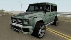 Mercedes-Benz G700 Brabus Widestar HQ para GTA San Andreas