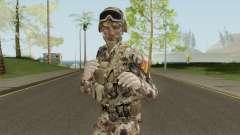 Chinese Peoples Liberation Army (Type 07 Desert) para GTA San Andreas