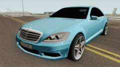Mercedes-Benz W221 With Polish License Plates para GTA San Andreas