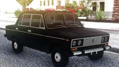 VAZ 2106 DRENAJE Negro para GTA San Andreas