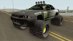 Nissan Skyline R32 Off Road Monster Energy