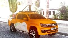 Volkswagen Amarok V6 De Yandex.Tarjeta de para GTA San Andreas
