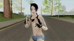 Rock Girl Skin para GTA San Andreas