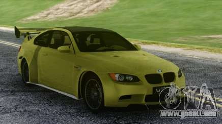 BMW M3 GTS Green para GTA San Andreas