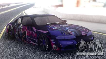 Nissan Silvia S14 SuicidePaintjob para GTA San Andreas