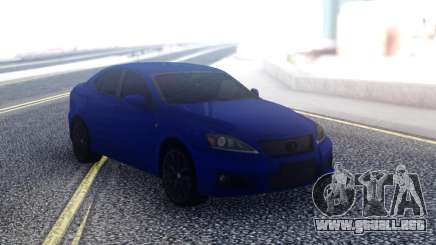 Lexus IS-F Sedan para GTA San Andreas