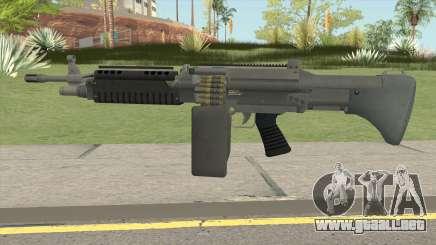 Combat MG (Extended Mag) GTA V para GTA San Andreas