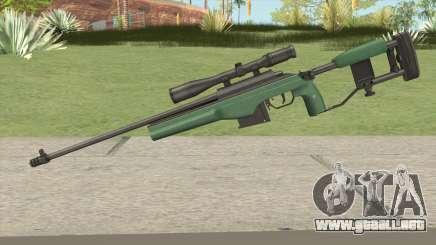 SAKO TRG-42 Sniper Rifle (Green) para GTA San Andreas