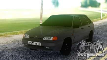 VAZ 2114 Gris Hatchback para GTA San Andreas