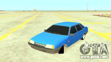 VAZ 21099 Azul para GTA 4