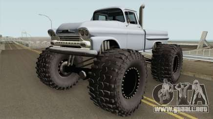 Chevrolet Apache Monster Truck 1958 V2 para GTA San Andreas