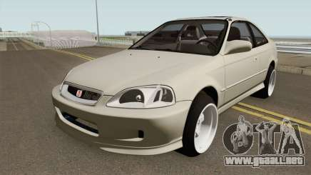 Honda Civic 99 Swap K20Z3 para GTA San Andreas
