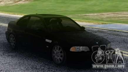 BMW M3 Black Coupe para GTA San Andreas