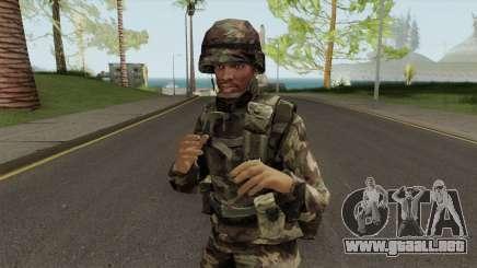 CJ Militar para GTA San Andreas