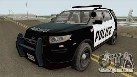 Vapid Police Cruiser Utility GTA V IVF para GTA San Andreas