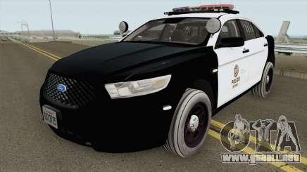 Ford Taurus Police Interceptor LAPD 2015 para GTA San Andreas