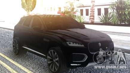 2017 Jaguar F-Pace para GTA San Andreas