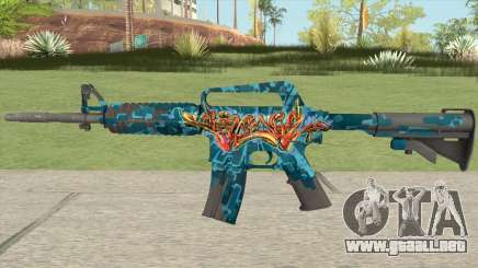 CS:GO M4A1 (Silence Skin) para GTA San Andreas