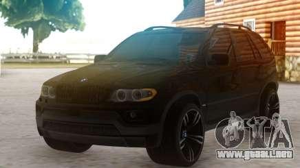 BMW X5 SUV para GTA San Andreas