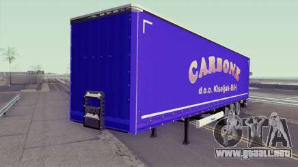 Carbone Trailer para GTA San Andreas