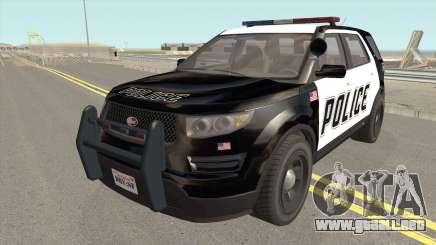 Vapid Police Cruiser Utility GTA V para GTA San Andreas