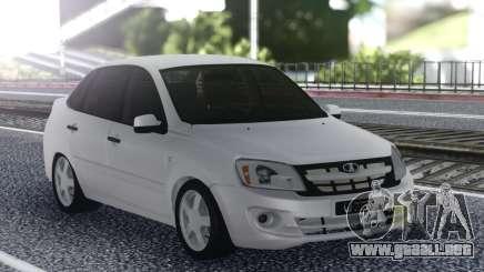Lada Granta White Stock para GTA San Andreas