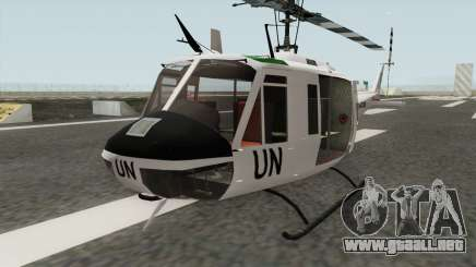 Bell UH-1 Huey United Nations para GTA San Andreas
