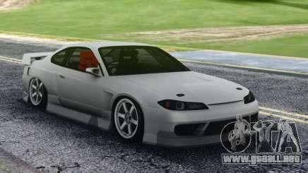 Nissan Silvia S15 White Sport para GTA San Andreas