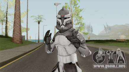Star Wars Commander Wolffe para GTA San Andreas