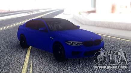 BMW М5 F90 Sedán para GTA San Andreas