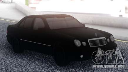 Mercedes-Benz E55 Black Sedan para GTA San Andreas