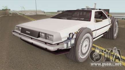 Delorean DMC-12 Time Machine BTTF 2 para GTA San Andreas