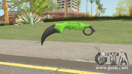 Knife V1 (Apocalypse) para GTA San Andreas