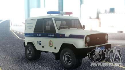 UAZ Hunter DPS para GTA San Andreas