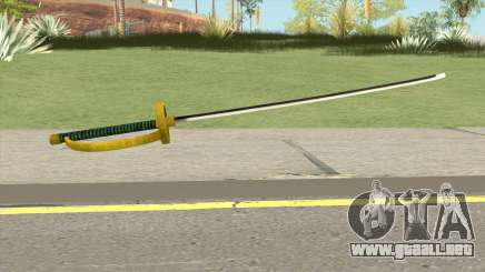 Shanks Akagami Weapon para GTA San Andreas