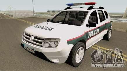 Renault Duster Policija Bih para GTA San Andreas