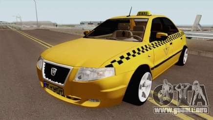IKCO Samand Soren Taxi para GTA San Andreas