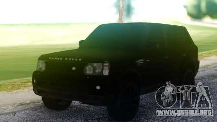 Land Rover Range Rover Sport All Black para GTA San Andreas