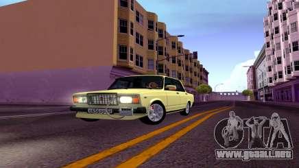2107 De Combate Clásico Sedán para GTA San Andreas