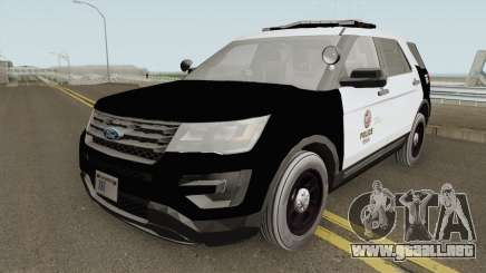 Ford Explorer Police Interceptor LAPD 2017 para GTA San Andreas