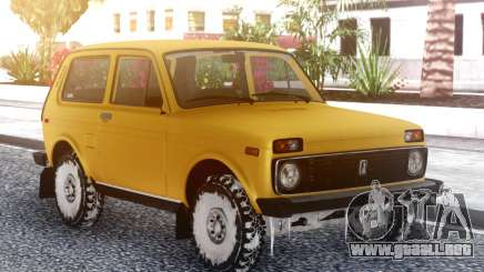 VAZ 2121 Nieve para GTA San Andreas
