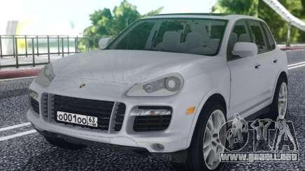 Porsche Cayenne White para GTA San Andreas