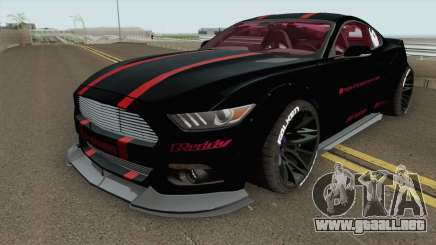 Ford Mustang GT Liberty Walk 2015 para GTA San Andreas
