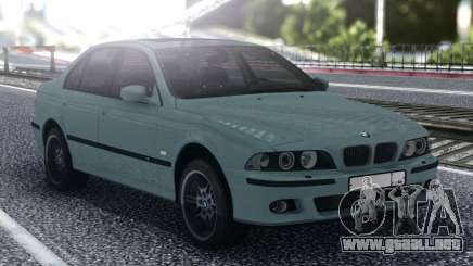 BMW M5 E39 Grey para GTA San Andreas