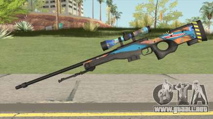 Sniper Rifle (Monster Skin) para GTA San Andreas
