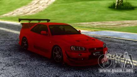 Nissan Skyline Racing para GTA San Andreas