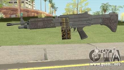 GTA Online Lowriders Combat MG para GTA San Andreas