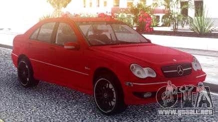 Mercedes-Benz С55 AMG W203 para GTA San Andreas