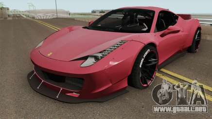 Ferrari 458 Liberty Walk HQ para GTA San Andreas