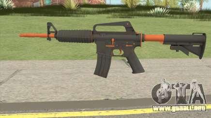 CS:GO M4A1 (Orange Accents Skin) para GTA San Andreas